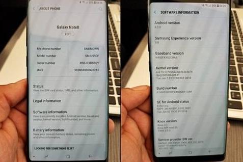 Galaxy Note 8 Sudah Dapat Android Oreo
