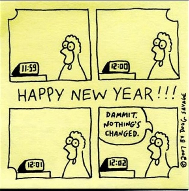 Funny New Year Resolution 2018