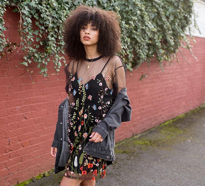 Style | Jaded London Mesh T-Shirt Dress