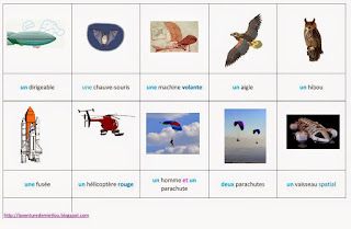 aviation vocabulaire enfant