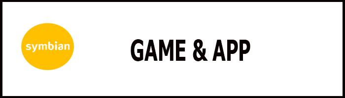 Symbian  game và App alt