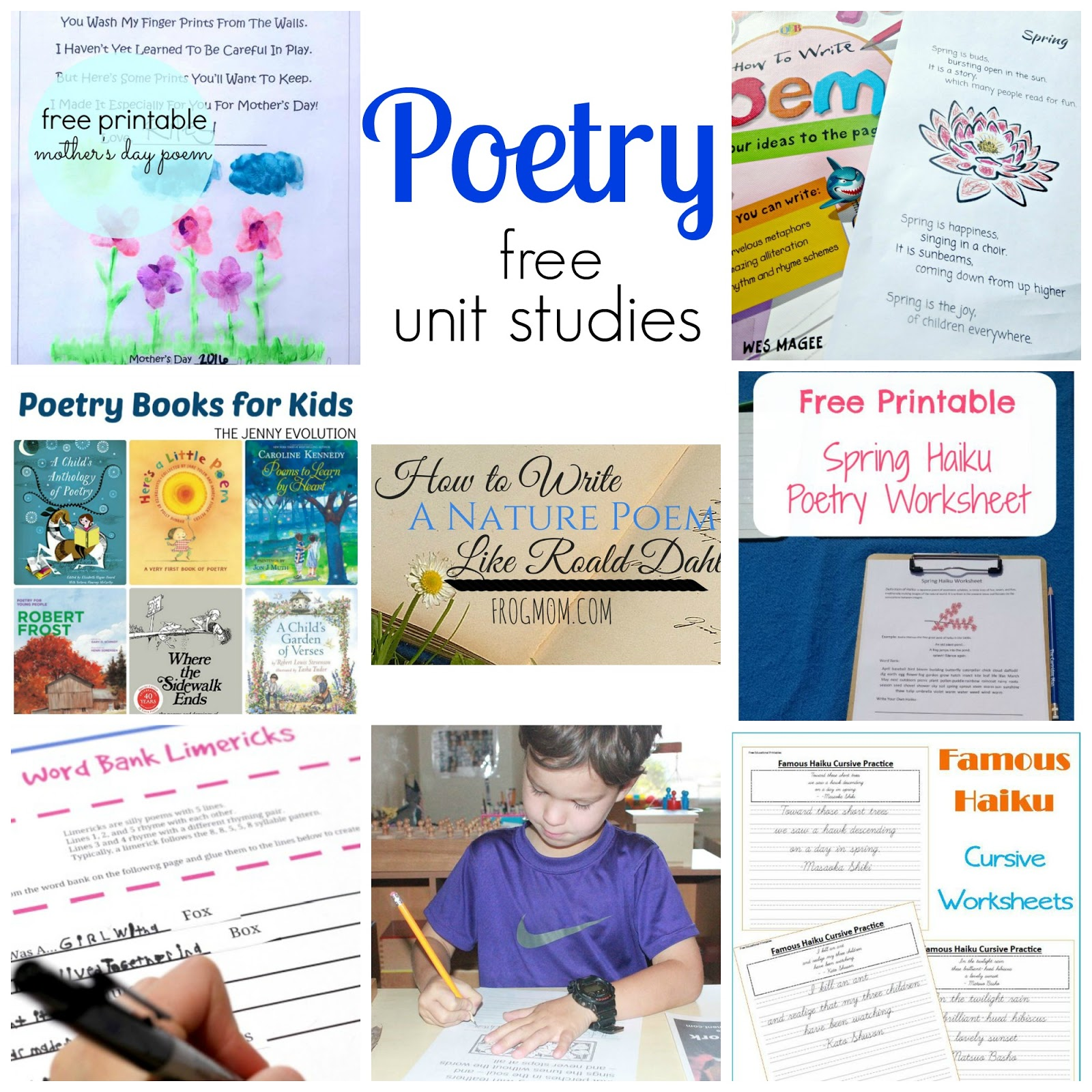 Poetry Writing For Kids Using Metaphors