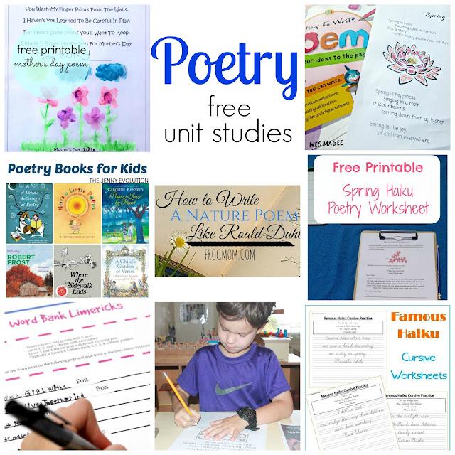 Free Poetry Unit Study