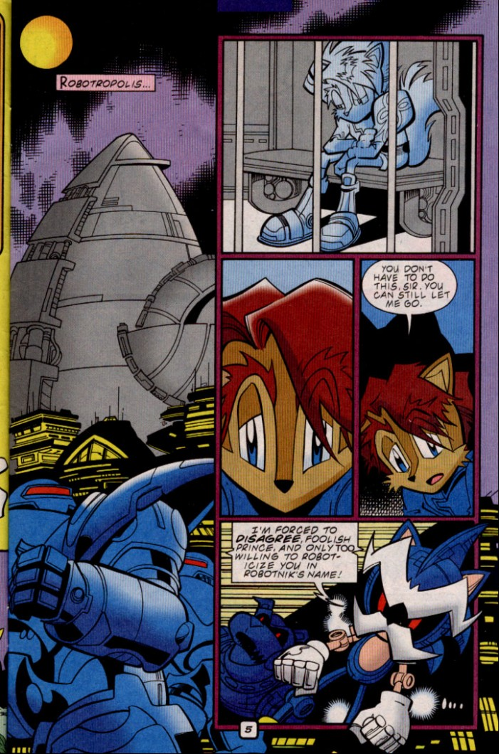 Read online Sonic The Hedgehog comic -  Issue #88 - 6
