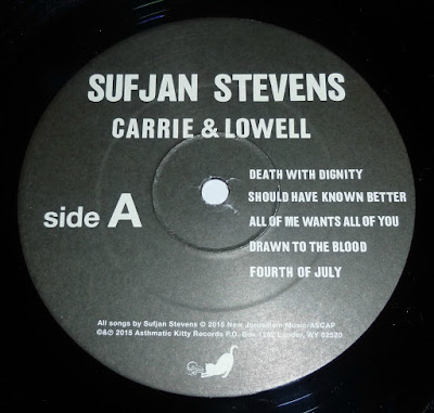 Carrie & Lowell Label