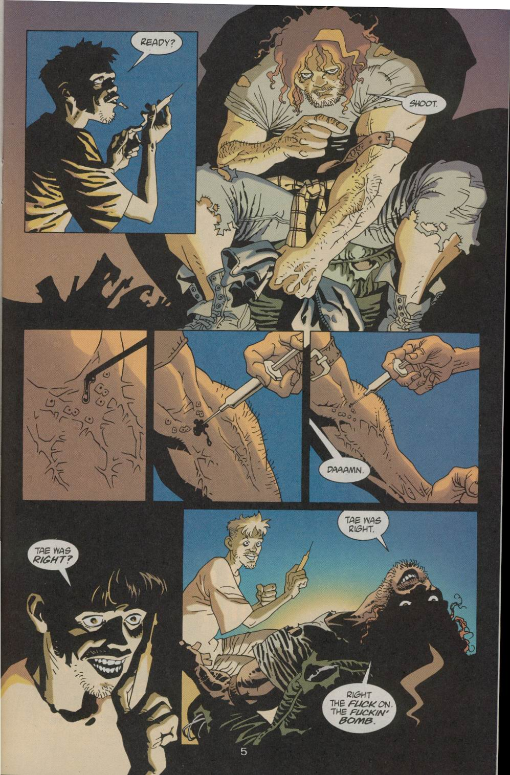Read online 100 Bullets comic -  Issue #21 - 6