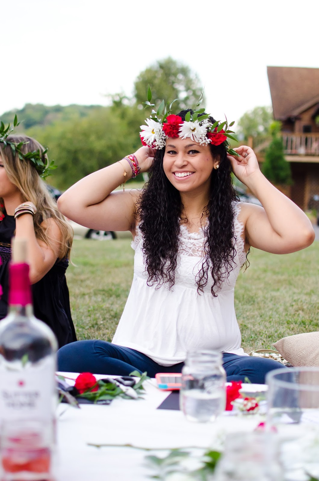 Flower Crowns Food Gathering The Wild Revival