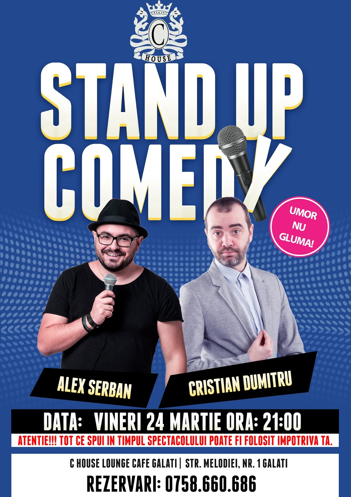 Stand-Up Comedy Galati Vineri 24 Martie