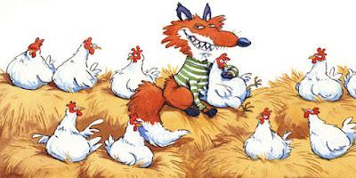 el zorro y las gallinas fabula