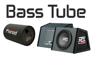 Bass tube kotak