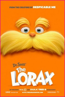 Dr. Seuss' The Lorax Hollywood Movie 2012 Online Free DVD Zac Efron Taylor Swift First Look Poster