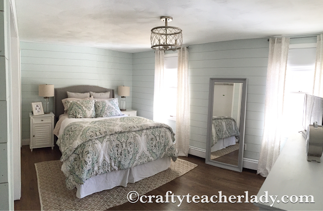 Rustic Coastal Bedroom Decor