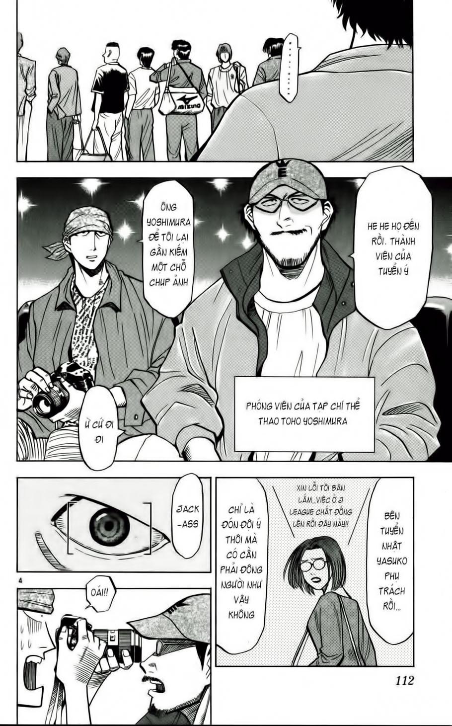 Fantasista chap 50 trang 4