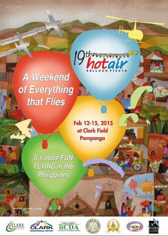 Philippine International Hot Air Balloon Fiesta 2015 Schedule of Events, Ticket Prices and How to Get There