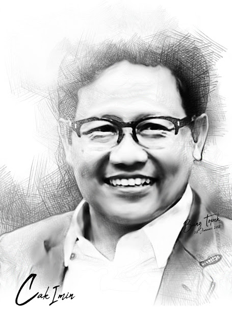 Digital Sketch Cak Imin