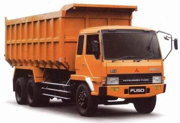 gambar mitsubishi fuso dump truk