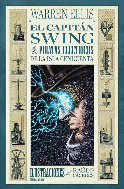 Casa de libros perdidos RESEA El capitn Swing y los piratas elctricos de la Isla Cenicienta