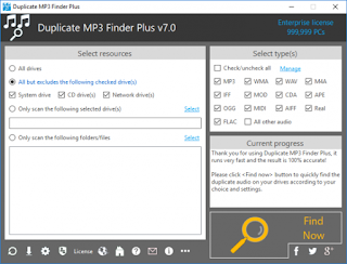 TriSun Duplicate MP3 Finder Plus 7.0 Build 012 Multilingual Full Version