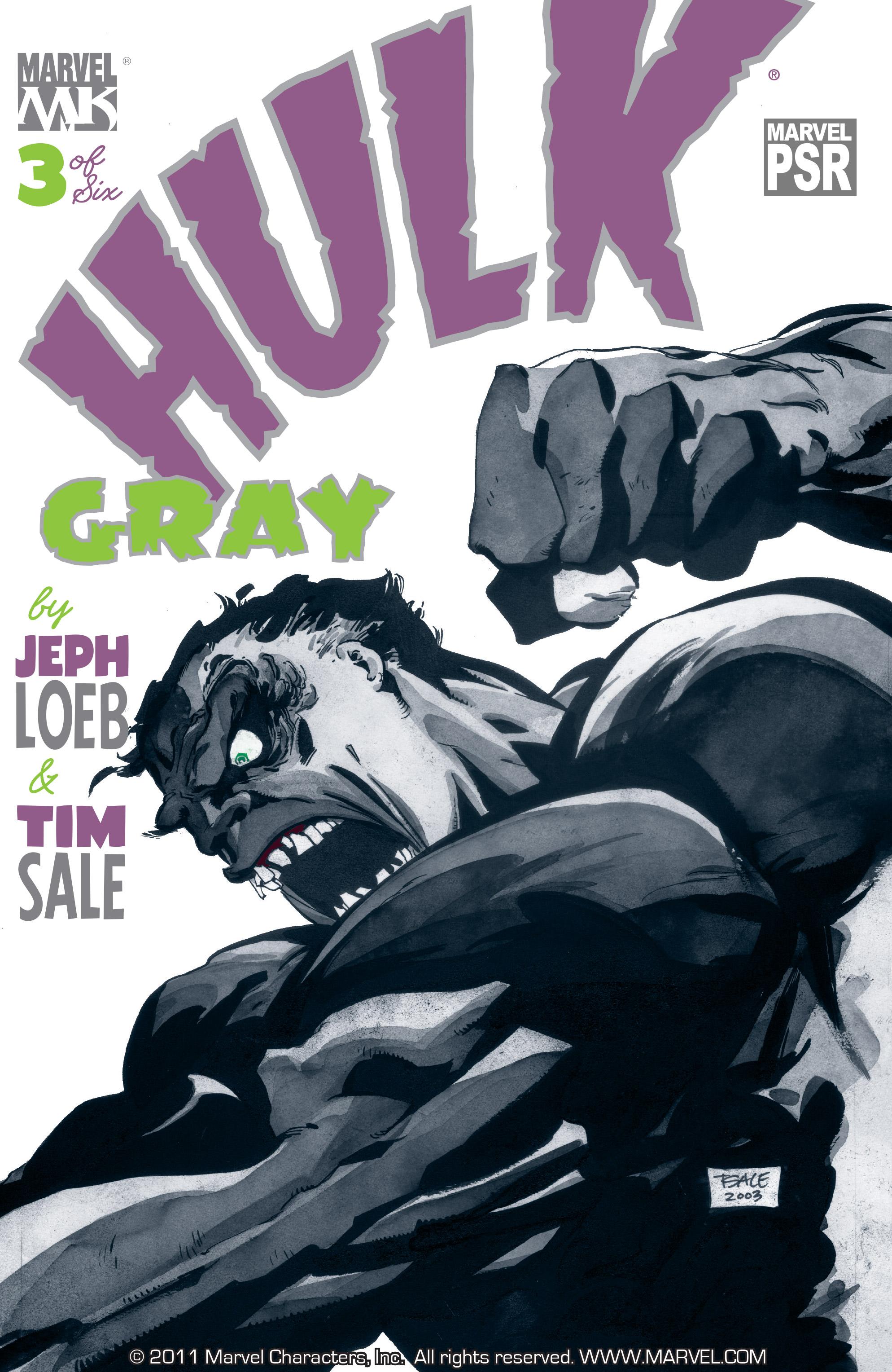 Read online Hulk: Gray comic -  Issue #3 - 1