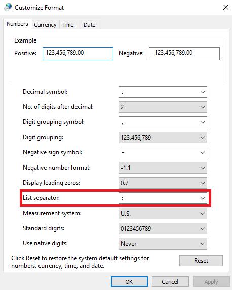 Cara Merubah Koma Menjadi Titik Di Excel : merubah, menjadi, titik, excel, Merubah, Simbol, Pemisah, Rumus, Excel, Close