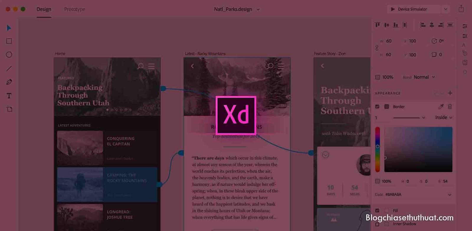 Tải về Adobe Experience Design CC 2017 - Phần mềm hữu ích cho UX designer