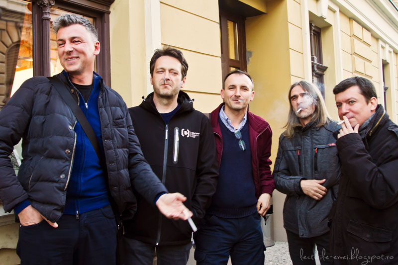 Bogdan Munteanu, Dan Coman, Robert Șerban, Marin Mălaicu-Hondrari, Alexandru Potcoavă