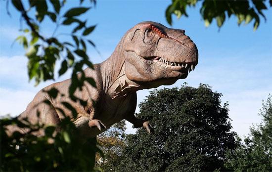 Tiranossauro Rex não podia colocar a língua para fora - Img2