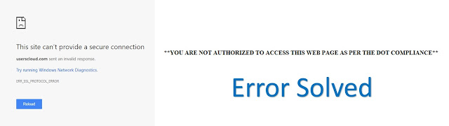 Fix 'You Are Not Authorised http://www.nkworld4u.in/ To Access The Site As Per The Dot Compliance' On Your Android And Windows PC Browser With This Simple Method
