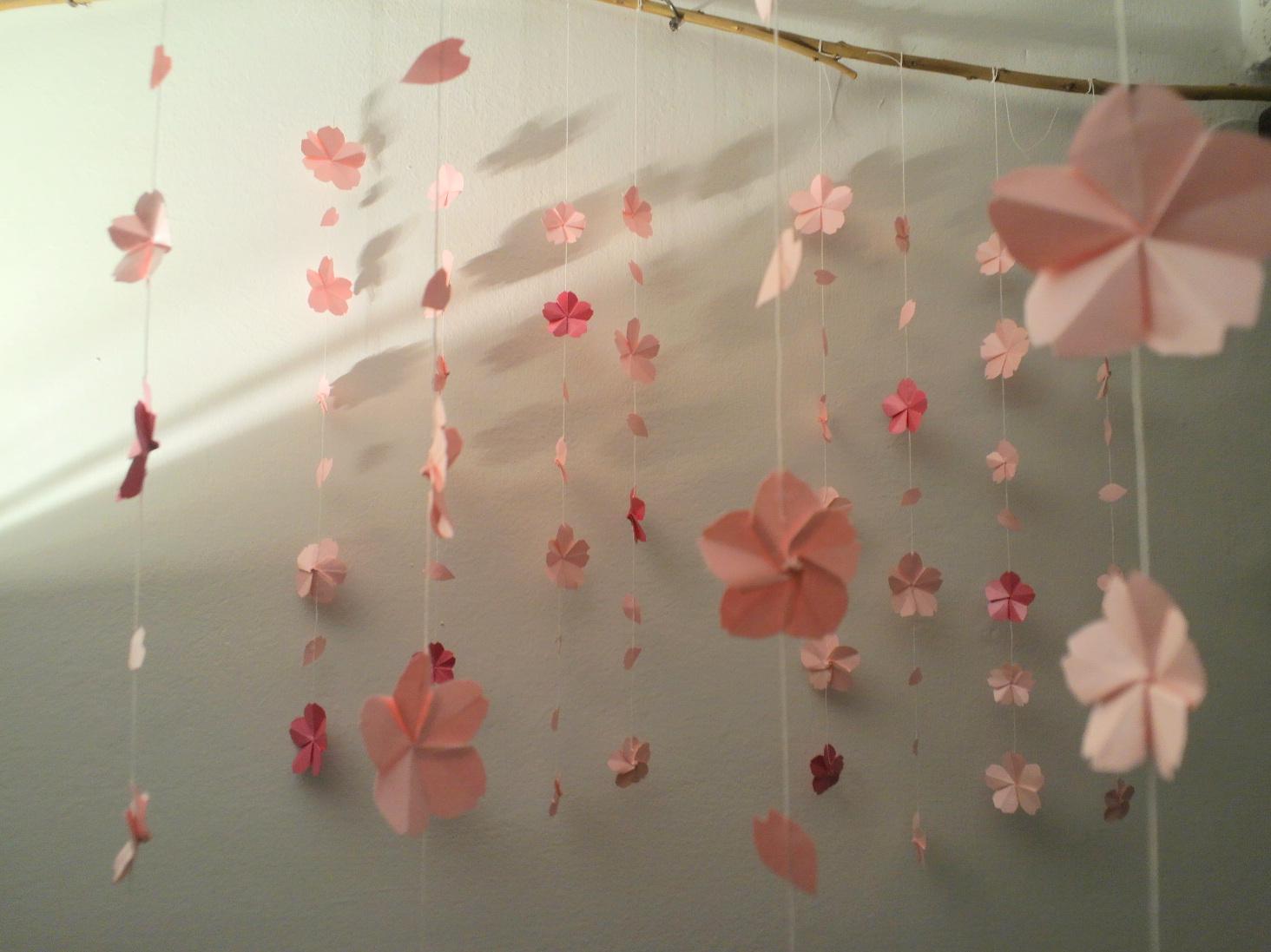 Origami mi rende felice :): fiori di ciliegio di Origami - photo#31