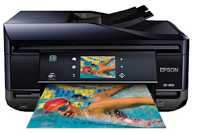 Wireless Color Photo Printer amongst Scanner Epson Expression Photo XP-850 Driver Downloads
