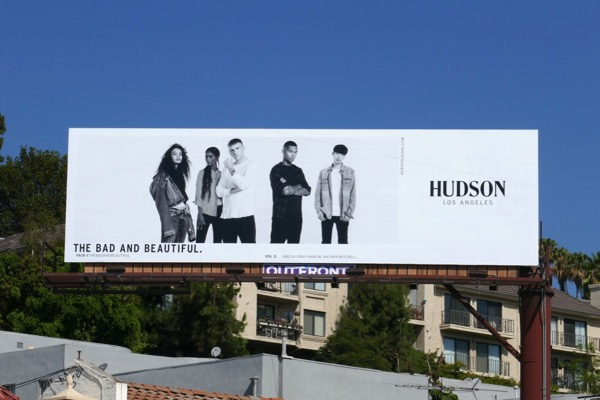Hudson Jeans Bad Beautiful Fall18 billboard