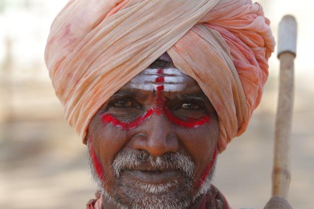 Magician from Hampi, Karnataka, India