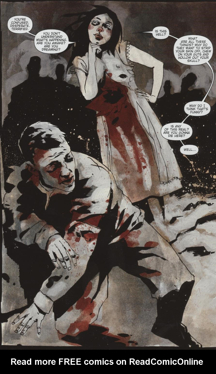 Read online Silent Hill: Dead/Alive comic -  Issue #1 - 2