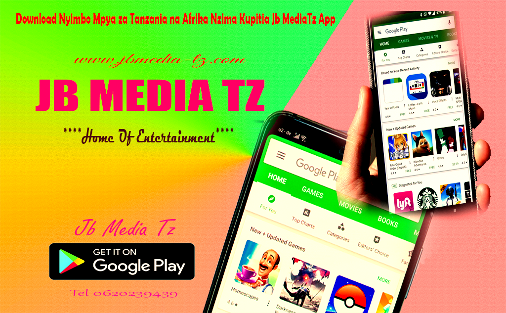 CLICK HERE TO DOWNLOAD JB MEDIA TZ APP