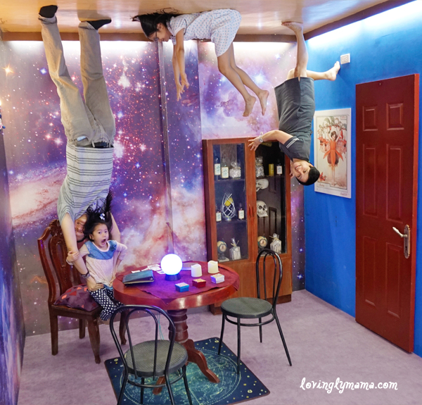 Upside Down World Cebu - magical room - family time