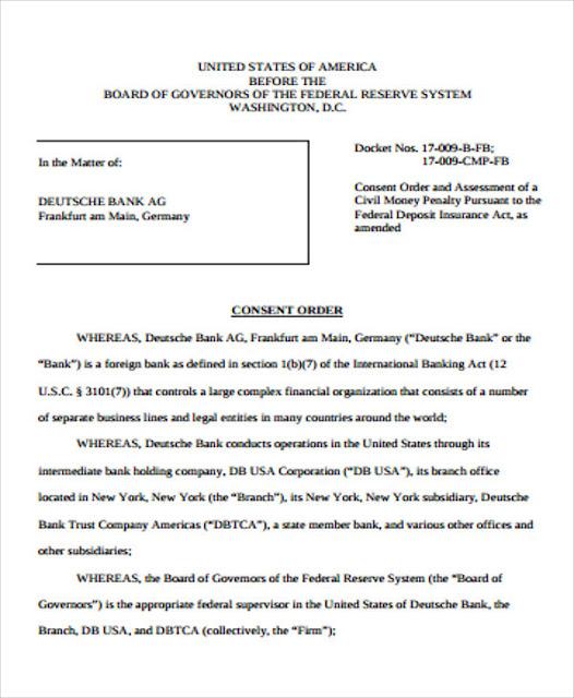consent order divorce settlement