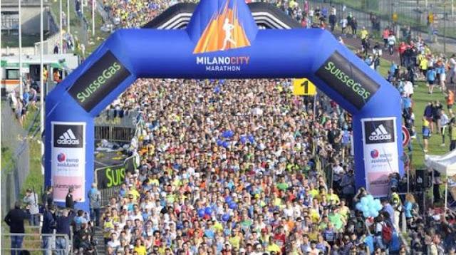 """Armani le """"birla"""" el Maratón de Milán a adidas"""