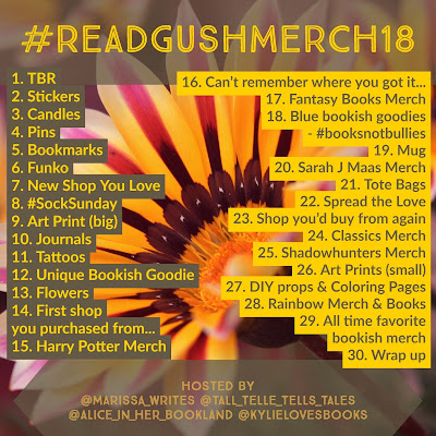 Read & Gush - April Photo Challenge for Bookstagram