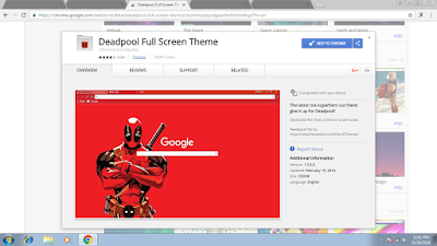 Tutorial Gampang Mengganti Tema Google Chrome 17