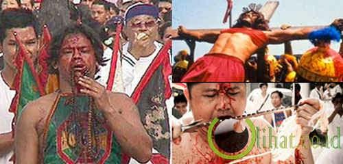 5 Festival Bersimbah Darah yang paling Menyeramkan