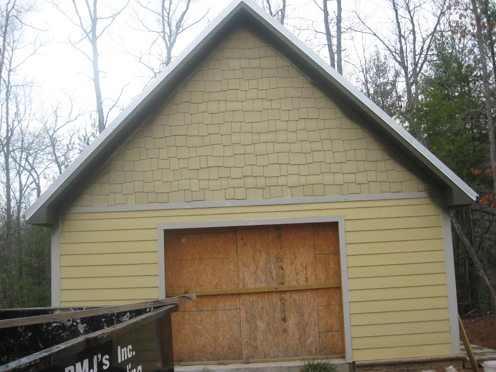 Dufour Woodworks Hardie Shakes With Lap Siding