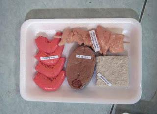 food model hewani Rendah Lemak