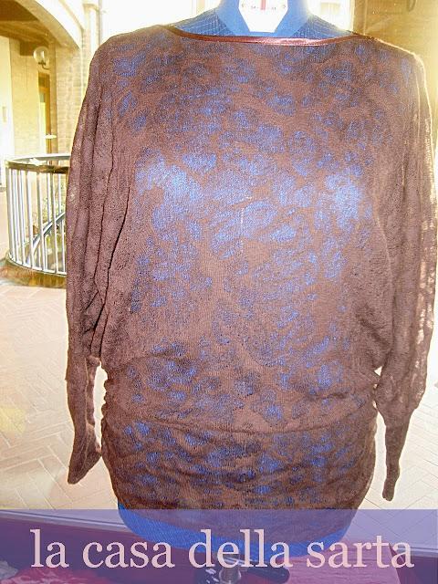 modelli maglia lana pizzo