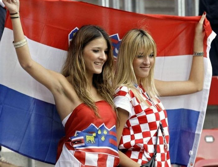 Croatia Female Fans-3 Euro 2016