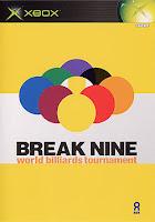 Break Nine : World billiards Tournament original xbox import games