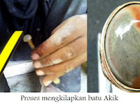 5 Cara Tradisional Mengkilapkan Batu Akik Kalimaya (Black Opal)