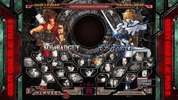 Guilty Gear XX Accent Core Plus R PC Full Version Screenshot 3