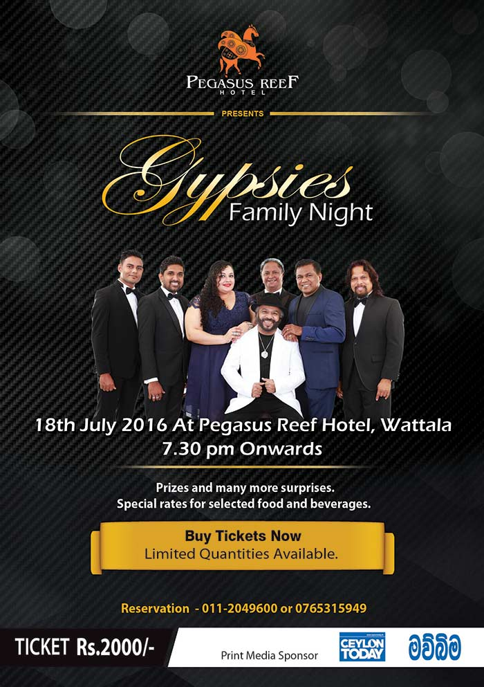 Gypsies Family Night at Pegasus Reef Hotel