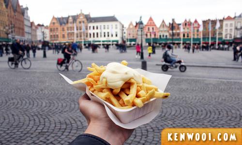 bruges belgian fries