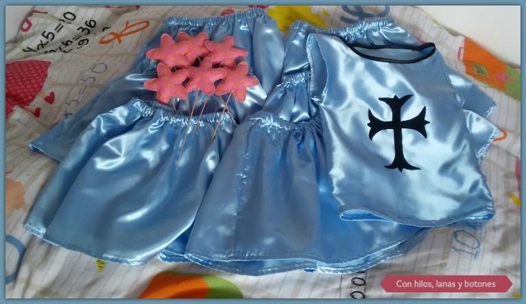 Con hilos, lanas y botones: Varita mágica para princesas cumpleañeras